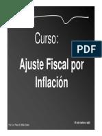 Ajuste Monetario Fiscal Por Inflacion