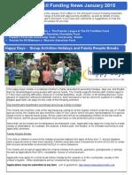 Stockport funding news January 2015
