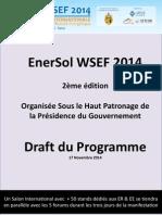 EnerSol WSEF 2014 Draft Program V17112014 _VF