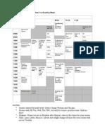 Schedule Sept Oct31