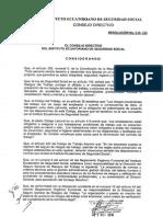 Resolución CD 333