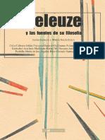 Deleuze y Las Fuentes de Su Filosofía