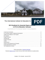 ICTs in Education Handbook