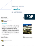 Marketing Mix Mabe en Venezuela