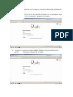 Manual de Configuración de Teléfono Ip Nuevo Mediante Centralita Quadro