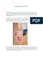 Tratamiento Farmacológico en El TDAH