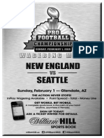 William Hill US - Super Bowl 49 odds and props