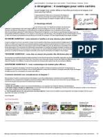 La Maîtrise Des Langues Étrangères _ 4 Avantages Pour Votre Carrière - Trucs & Astuces - Dossiers - Go