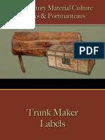 Trunks & Portmanteaus