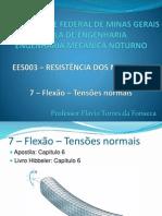 RM_7 - Flexão - Tensões Normais
