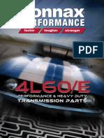 Sonnax HP 4L60E Catalog v1