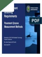 Larkin-FAA Pavement Grooving