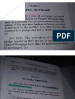 Chattel Mortgage and Recto Law