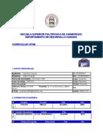 Curriculum Vitae Administracion 111