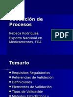 Bpm Validacion Procesos FDA