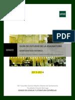 Guía Morfosintaxis Histórica 2014-2015