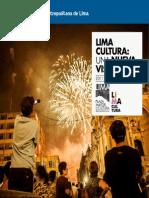 Lima Cultura. Una Nueva Vision