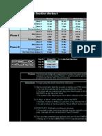 P90X Workout Excel Worksheet