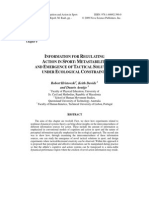 Hristovski 2009- Information for Regulating Action