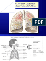 Pneumonia in Children & Lung Abscess