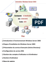 Administration Windows Server 2003