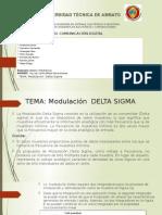 Modulacion PCM Delta Sigma