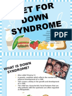 1down Syndrome - Nutrition Ppt-1