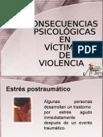 Consecuencias Psicolgicas de La Violencia