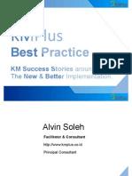KMPlus Best Practice