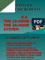 Basic Measurements (Times)Form 1