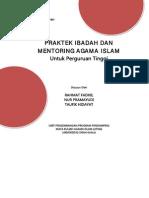 Buku PI Dan Mentoring UP3AI Unsyiah 2015