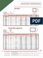 Catalogo Tubos Cuadrados Tubos Rectangulares