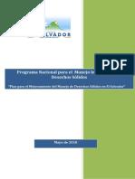 Programa de Manejo Integral de Desechos Solidos