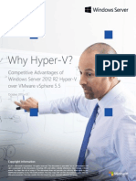 Competitive Advantages of Windows Server Hyper v Over VMware VSphere