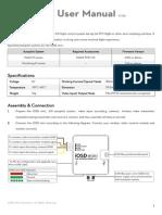 IOSD Mini User Manual v1.06