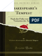 Shakespeares Tempest