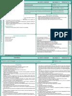 Planificación 5º Bim 2 grado de primaria