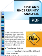 Risk and Uncertainity