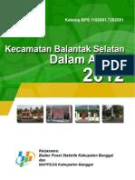 Kecamatan Balantak Selatan 2012