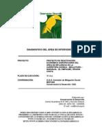 1 Diagnóstico físico y selección de áreas de reactivación de zonas afectadas por gran impacto ambiental