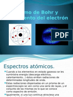 Atomo de Bohr, Movimiento Del Electron y