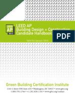 LEED AP BD+C Candidate Handbook
