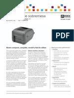 impresora gt800-ds-es
