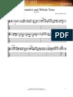 Exercicios de Gypsy Jazz - Cromatismo e Escala de Tons Inteiros