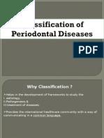 periodontal diesase classificationion
