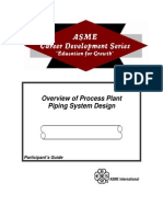 ASME Piping System Design