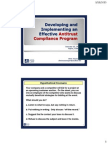 Developing and Implementing an Effective Antitrust Compliance Program