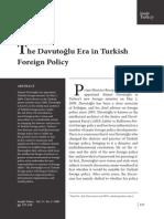 The Davutoglu Era in Turkish Foreign Policy_Aras