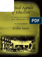 Krishna Kumar - Political Agenda of Education