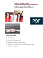CS II Project - Kingfisher Airlines Failure - Strategy Analysis